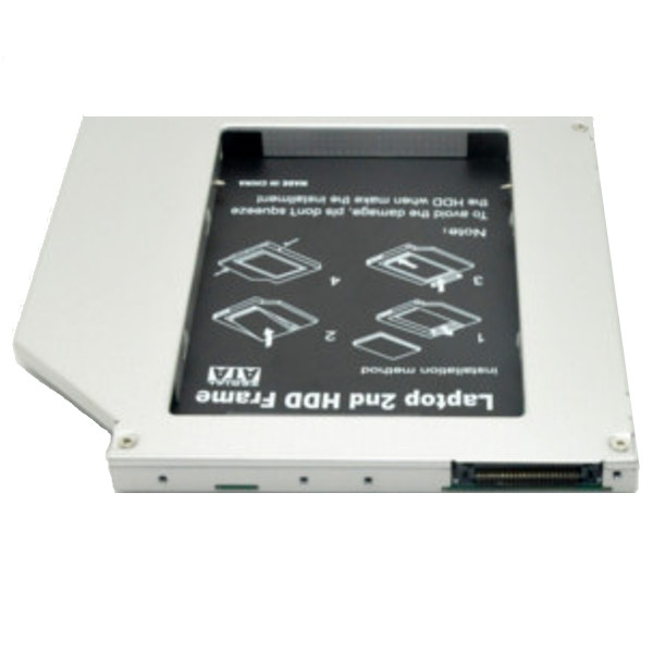 HDD Caddy 9.5mm IDE-SATA 2.5""